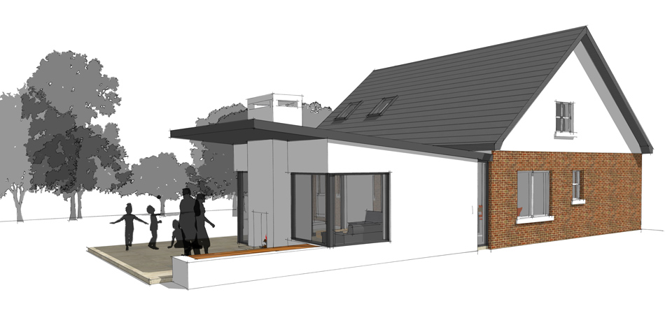 specialising in the design and build of house extensions northwich